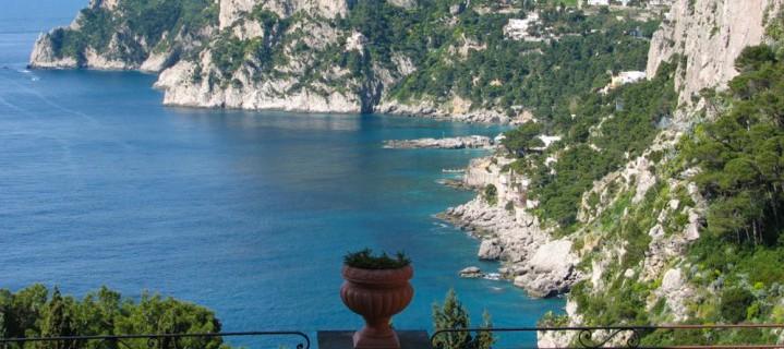 Shore Excursion Capri August Garden