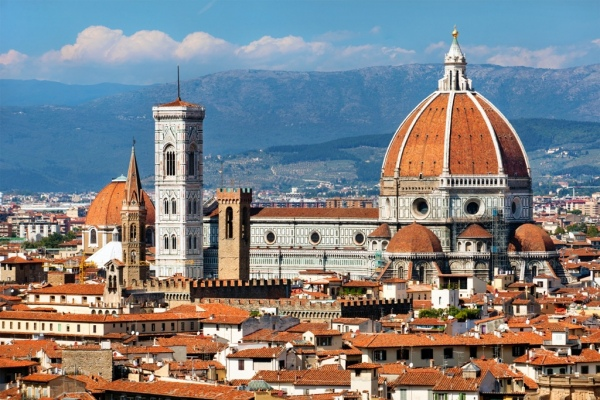 Transfer to Florence from Naples or Sorrento
