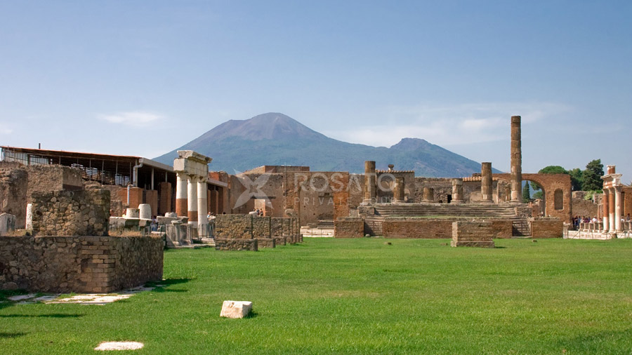 Pompeii private tour from Amalfi Coast