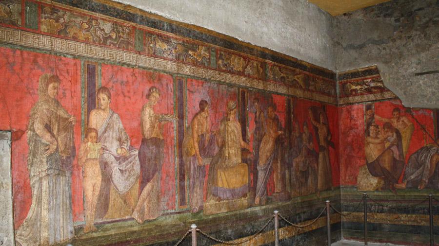 Tour Pompeii from Naples