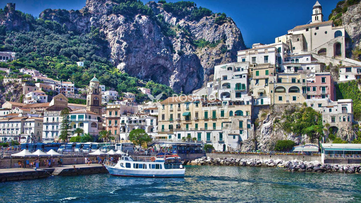 Shore excursion from Amalfi port