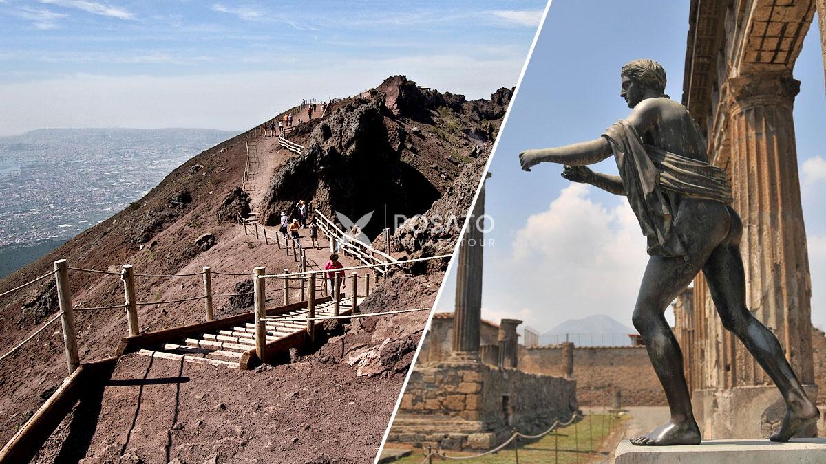 Shore Excursion From Naples To Pompeii Herculaneum Vesuvius