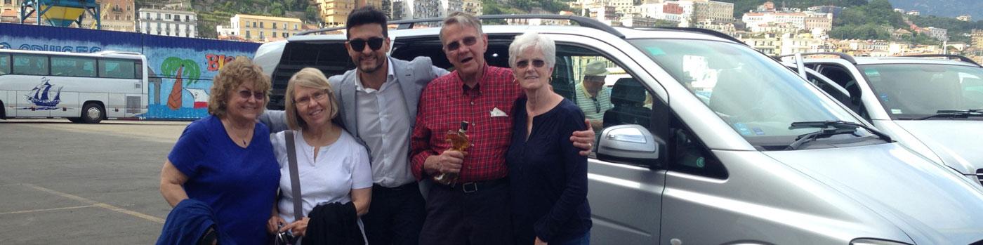 Transfers Naples, Sorrento and Amalfi