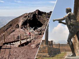 shore excursion from naples to herculaneum, pompeii and vesuvius